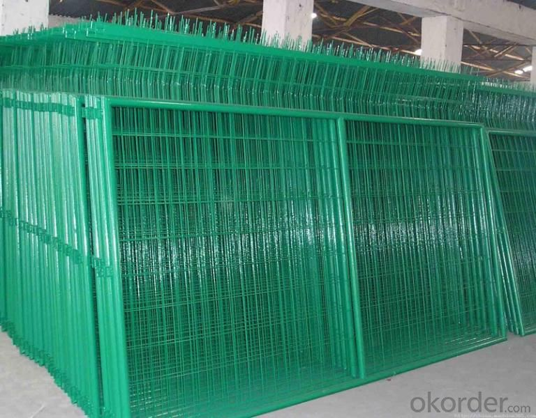 powder painted guardrail/road fence guardrai