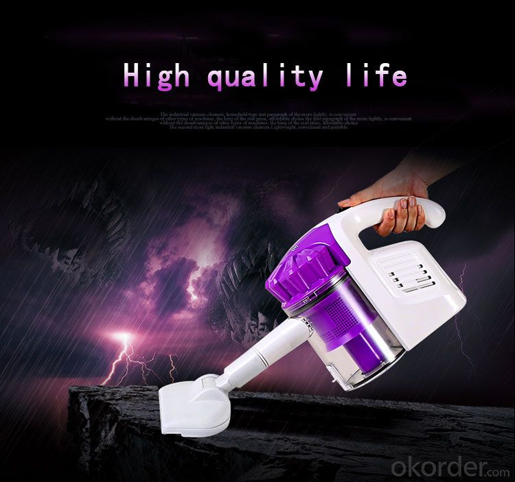 Handheld Vacuum Cleaner with ERP Class B-World Top 500 Enterprises-CNHH906
