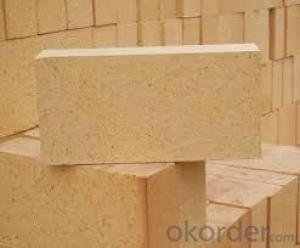Clay brick of refractory brick for electric furnace