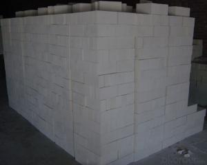 Clay brick of refractory brick for induction furnace