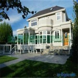 Steel Structural Prefabricated Villa / Typhoon Resistance Light  Steel House