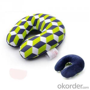 Nice Travel Cushion With Colorful Pattern