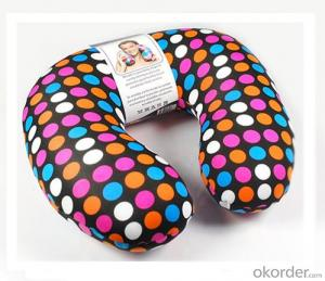 Nice Beads Neck Pillow  With Point Pattern