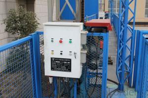Single Mast Climbing Work Platform with Balance Device 2×5.5 kW Power