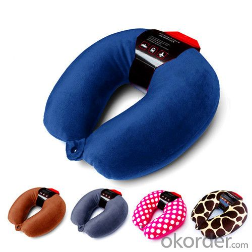 Beads Cotton Pillow for Holding U Shape