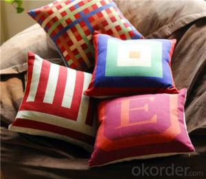 Cotton Sofa  Cushion for Home Decoration
