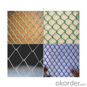 ChAINLINK Wire Mesh for fench PVC coated, electro galvanized