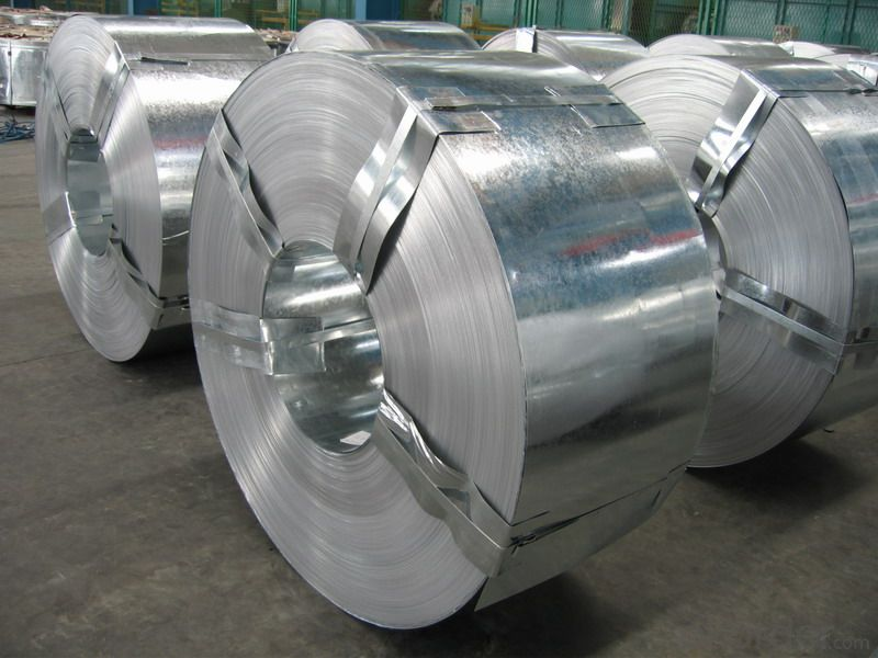 Galvanized Steel Coil 0.2mm-0.8mm Color Coated in China