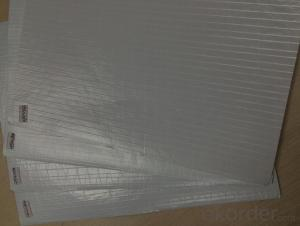 Aluminum Foil Facing with Double Side 2-Way Scrim Aluminum Foil Facing