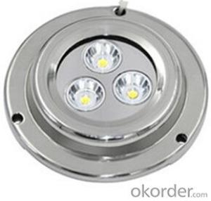 Led High Grade Waterproof Light for Under Fresh Water and Sea Water  with UD90-9W