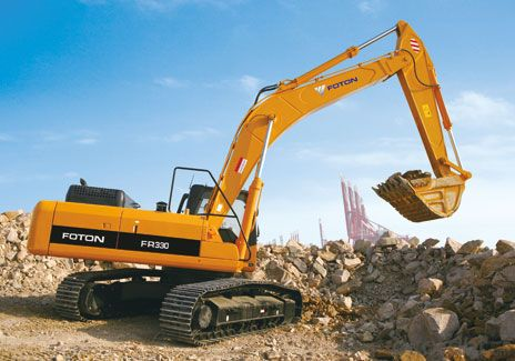 Earth Moving Excavator high quality FR220