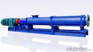 Electrical Single Screw Pump for Corrsive Medium