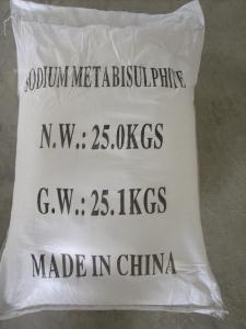 Sodium Metabisulfite From CNBM China in High Quality