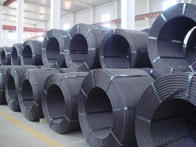 High Tensile Steel Wire with Spiral Ribs