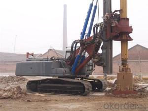 SERIE OTR620D OTR HYDRAULIC PILING RIG MACHINE