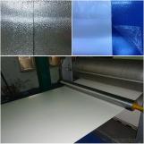 Bobinas de Aluminio Revestidas y Estuco Gofrado para Refrigeración