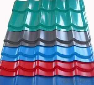 Prepainted Galvanized Corrugated Steel Sheet - New Style