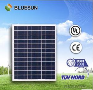Polycrystalline Silicon Solar Modules 40Watt