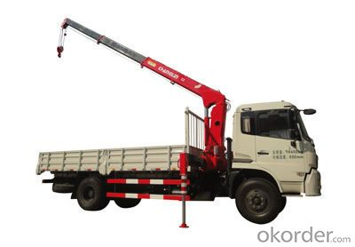 Changlin Brand Truck Mounted Crane with 6.3ton capactiy SQ6.3