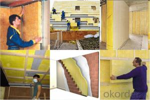 Fiber Glass Wool Blanket Waterproof Of Thermal Insulation