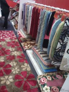 Door Rugs with 80% Wool 20% Nylon Materials for Home Use