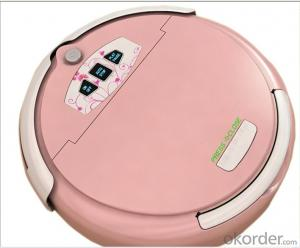 Robot Cleaner/Robot Vacuum Cleaner with Mop Cleaning and Auto-Recharging,