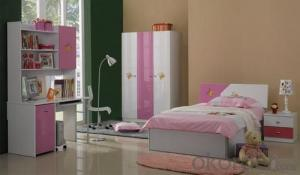 Children bed is Design for Children in E1 MDF Board and Colorful Painting