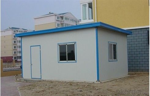 Buy Prefabricated House Decorative Sandwich Panel One Bedroom