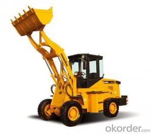 LONKING Brand Wheel Loader CDM812D with 0.5CBM Bucket