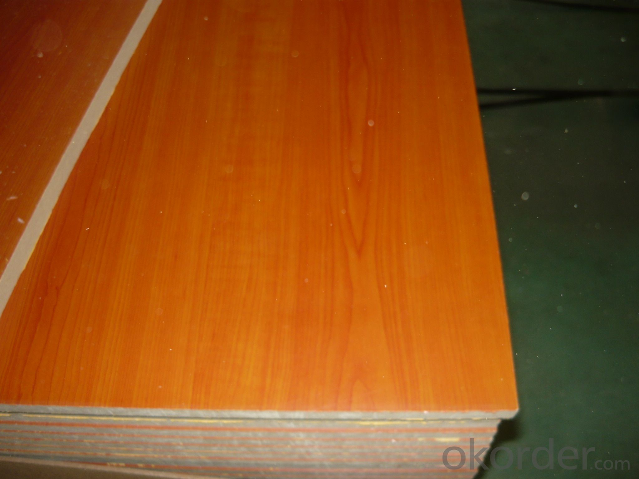 Wood Grain  Melamine Faced  MDF18MM Thickness