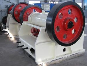 high efficiency jaw crusher used for mineral PE 600*750