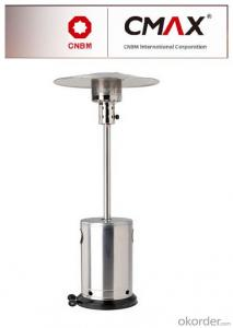 Freestanding CE/CSA/AGA Gas Heater with Stainless Steel Finish