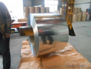 GI/HDGI/ zero spangle galvanized steel coil