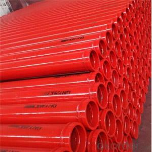 3M Welded Delivery Pipe for Zoomlion Concrete Pump