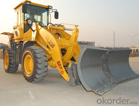 European popular model 620 2 ton mini loader