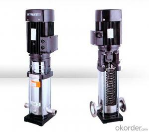 Vertical Multistage Stainless Steel Centrifugal Pump With High Quality