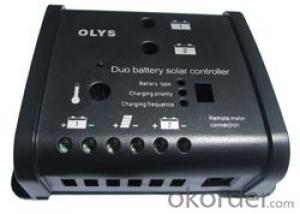 RV Solar power controller+LCD display+Remote meter(Options)