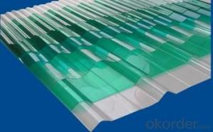 CMAX Medium Wave Corrugated PC  Roofing Sheet