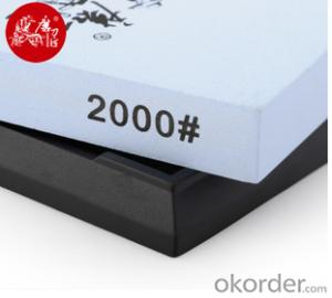 Oil Sharpening Stone for Woodworking Tools 2000# Whetstone
