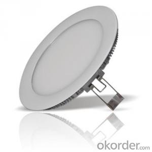 LED Mini Panel Light Round Shape 18W Aluminum/ABS