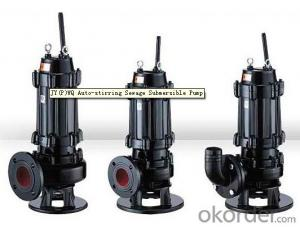 Gasoline Sewage Pump for Submersible Using with WQ Series