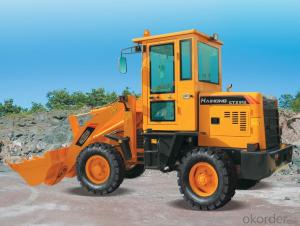 construction machine Haihong CTX915 wheel loader, cheap wheel loader