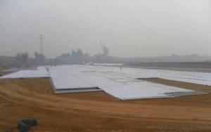 Polypropylene Non-woven Geotextile for River Construction