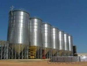 galvanized farm/chicken house/ poultry silo