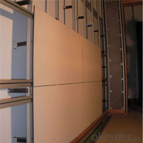 Calcium Silicate Board for Wall Partition with One Side Sanding