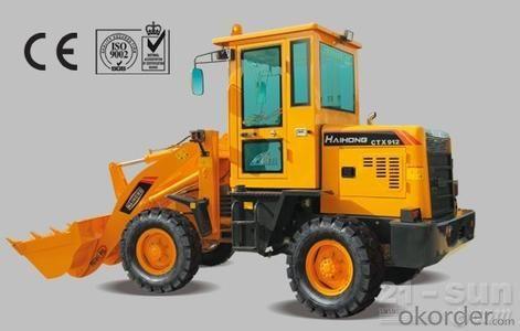 construction machine Haihong CTX912 wheel loader, cheap wheel loader