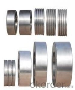 Tungsten Carbide Roll Ring 100% Raw Material Were Resisting