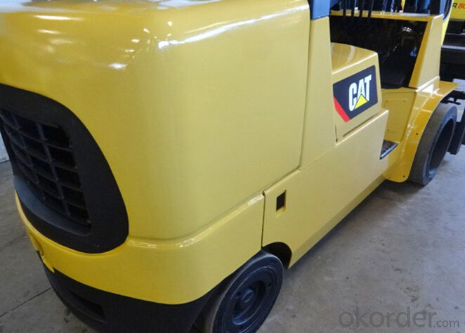 gas cushion tire lift truck,3000-6500 LB capacity LP