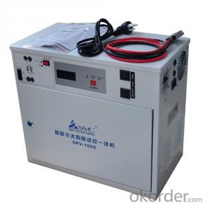 Solar Power System   ALL-IN-ONE 480W Pure Sine Wave AC/DC Output LCD/LED 12V/24V Solar Power System