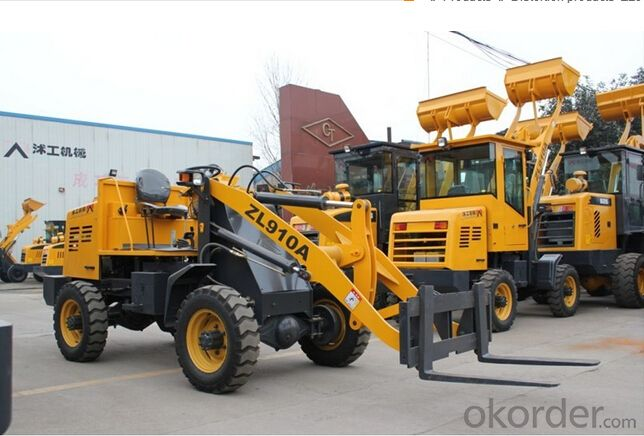zl10 with CE wheel loader for sale 1ton chinese mini